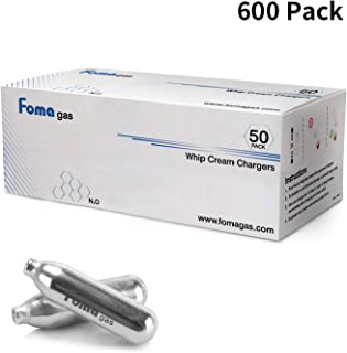 FOMA GAS Whipped Cream Chargers (600 PACK)