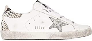 Golden Goose Luxury Fashion Donna GWF00102F00076110402 Bianco Pelle Sneakers | Stagione Permanente