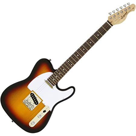Legend エレキギター LTE-Z 3TS 3トーンサンバースト メイプルネックローズ指板 テレキャスタイプ ソフトケース付