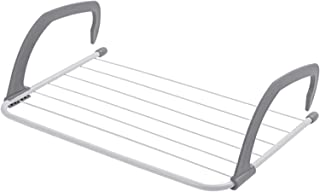 HOUZE LN-5369 - Wall Hanging Radiator Drying Airer, White, Large