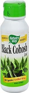 Nature's Way - Black Cohosh Root, 540 mg, 100 caps