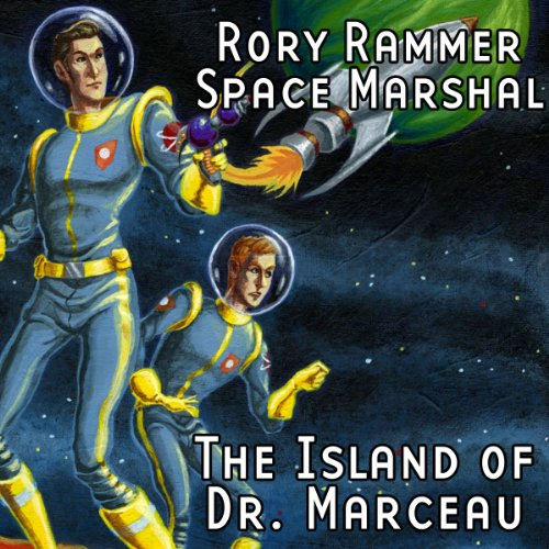 Rory Rammer, Space Marshal audiobook cover art
