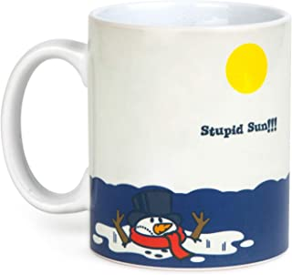 BigMouth Inc Color Changing Snowman Mug
