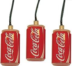 Kurt Adler Battery-Operated 10-Light LED Coca-Cola Can Light Set