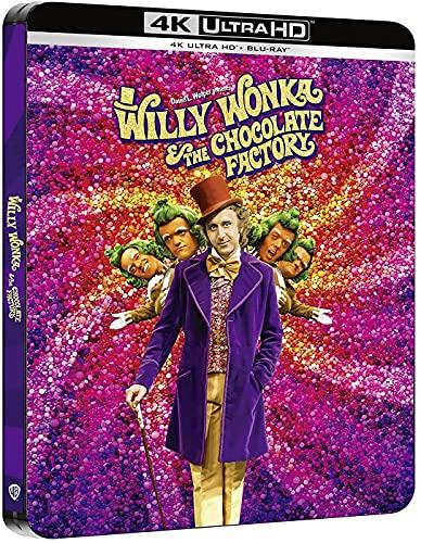 Un Mundo de Fantasía (Willy Wonka and the Chocolate Factory) - Steelbook 4k UHD + Blu-ray [Blu-ray]