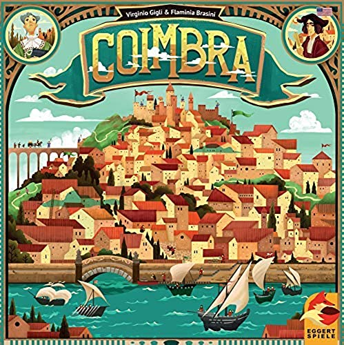Plan B Games  Coimbra Board Game - English
