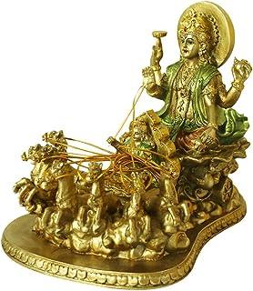 Hindu God Lord Surya Statue - India Home Temple Mandir Puja Idol Murti Pooja Item - Indian Diwali Holi Item Religious Hand...
