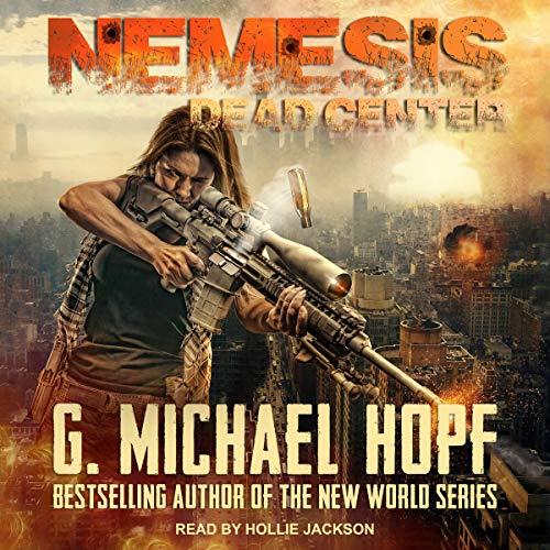 Nemesis: Dead Center audiobook cover art
