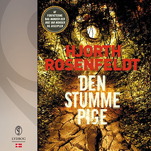 Den stumme pige audiobook cover art