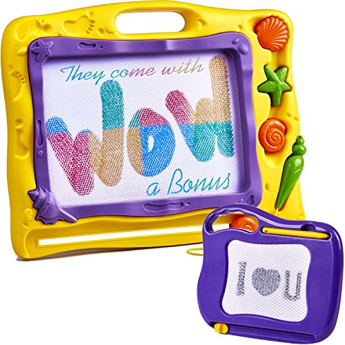Wow Four Design Magnetic Drawing Board