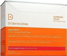 Dr. Dennis Gross Skincare Alpha Beta Peel, Extra Strength, 60 Count BOX