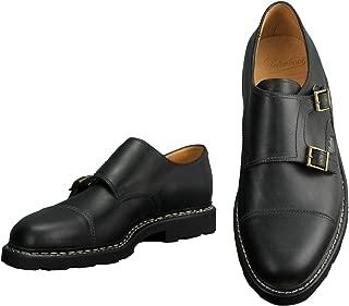 [パラブーツ] モンクシューズ WILLIAM ウィリアム メンズ靴 ブラック オイルドレザー レザースニーカー ダブルモンク 本革 国内正規取扱店 8サイズ(27.0cm相当)