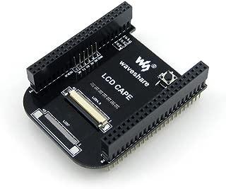 Waveshare Beaglebone Black Kit 512MB DDR3 4GB 8bit eMMC 1GHz ARM Cortex-A8 Development Board Expansion Board Cape Supports 4.3inch LCD Screen