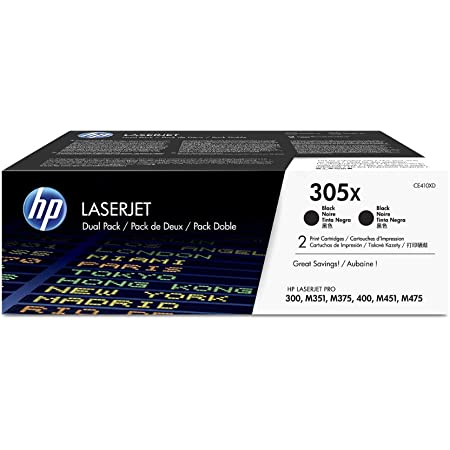 Hp Cf370am 305 A Pack Of 3 Blue Red Yellow Original Ink Cartridge For Hp Laserjet Pro M351 M375nw M451 M475 Hp 305 A Ce410 A Black Toner Cartridge For Hp Laserjet