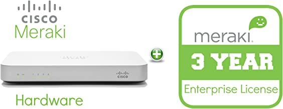 EOS Meraki MX60 Enterprise License and Support, 3 Years, Electronic Delivery