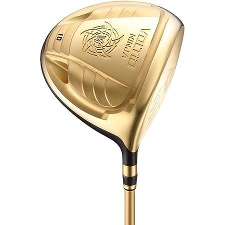カタナゴルフ(KATANAGOLF)ドライバー 限界まで反発係数を引き上げた20周年限定超高反発モデル。ボルティオ ニンジャ 880Hi ゴールド(高反発) VOLTIO NINJA 880Hi GOLD(高反発) (11, r)