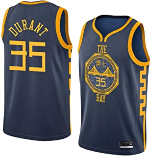 c9196783a2a04 K&P Sports Maillot Kevin Durant Golden State Warriors Bleu, Maillot Kevin  Durant City Édition Swingman