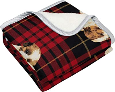 Amazon.com: Vipsk Throw Blanket Super Soft Blanket Warm ...