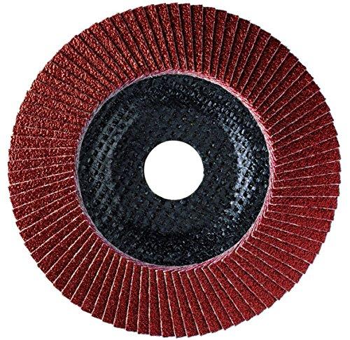 Sonnenflex Golden Star, Ruota lamellare abrasiva con rivestimento in ceramica, 168 x 22,23 mm, CO 40