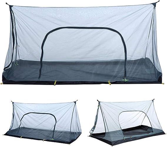 MDZH Tente 1-2 Personne été été Anti Moustique Maille Tente Ultra-Léger Tente De Camping en Plein Air Moustique Répulsif Insecte Net Tente Plage Maille Tentes