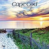 Cape Cod 2022 12 x 12 Inch Monthly Square Wall Calendar, Ocean Sea Coast Massachusetts