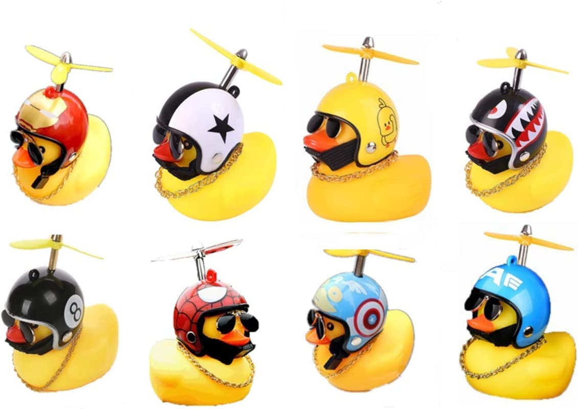 8 Pack Duck Bike Bell Hovico De Gorgeous Yellow New life Little Mountain