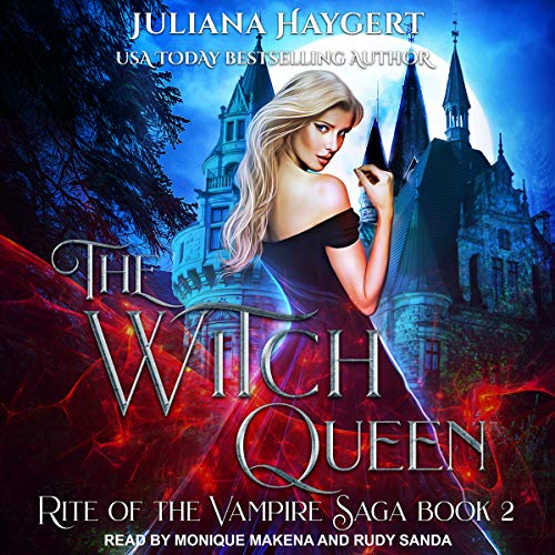The Witch Queen audiobook cover art