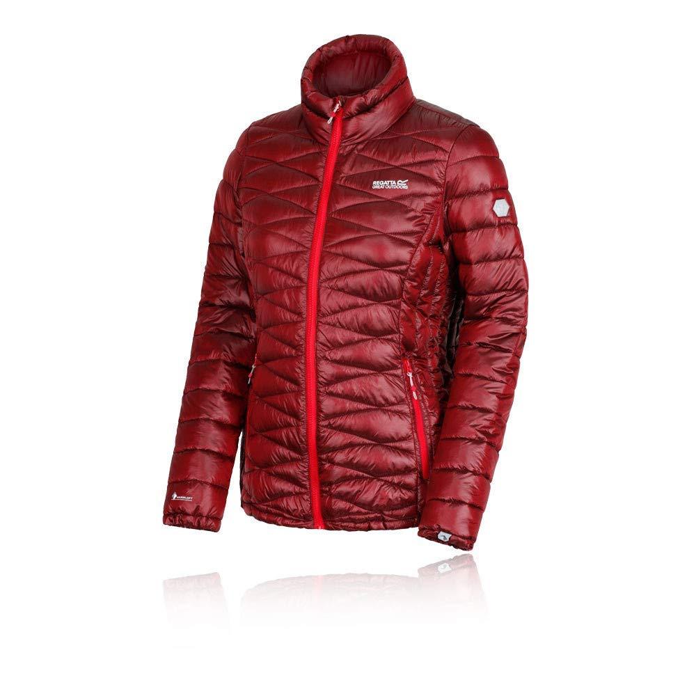 Regatta Damen Metallia Lightweight Water Repellent Insulated Jacke, Rot (Red Ale
