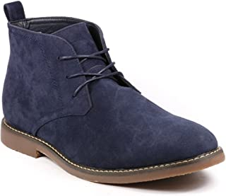 Miko Lotti BF1302 Men`s Lace Up Casual Fashion Ankle Chukka Boots Run Big