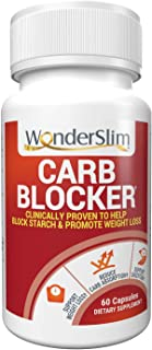 WonderSlim Phase 2 White Kidney Bean Extract for Women & Men - Supports Digestion and Reduces Starch Absorption, Keto Frie...