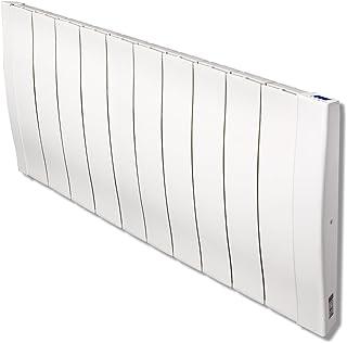 Haverland RC11W - Emisor Térmico De Inercia De Fundición De Aluminio Bajo Consumo, 1700 de Potencia, 11 Elementos, Pantalla LCD y Funcionamiento Programable