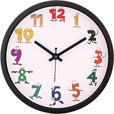 Crafts World Plastic Wall Clock for Home/Office