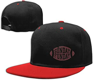 Eyscar Women&Mens Sunday Funday Unisex Casual Hat Adjustable Strapback