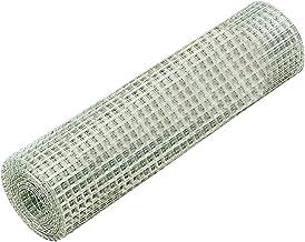 Amagabeli 1.22M X 25M Sechskant-Geflecht Drahtzaun Gartenzaun RAL6005 Gr/ünen Maschenweite 25.4 mm Drahtgitter-Rolle Gartenzaun Kaninchendraht Metall Drahtg HC05