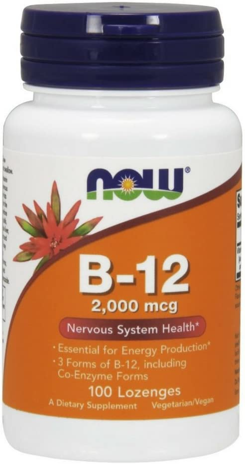 NOW Supplements B-12 2 000 Sys Nervous Max 45% OFF mcg Energy 40% OFF Cheap Sale Production