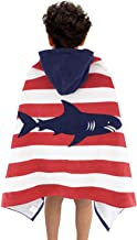 Wowelife Kids Hooded Towel Beach Towel for Bath,Pool and Beach 100% Cotton Soft to Skin and Super Absorbent,30 x 50 inch E...