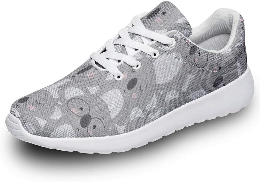 Denver Mall DCcphiz Men Women Sneakers Stylish Prin Now free shipping Animal Cartoon Shy Koala