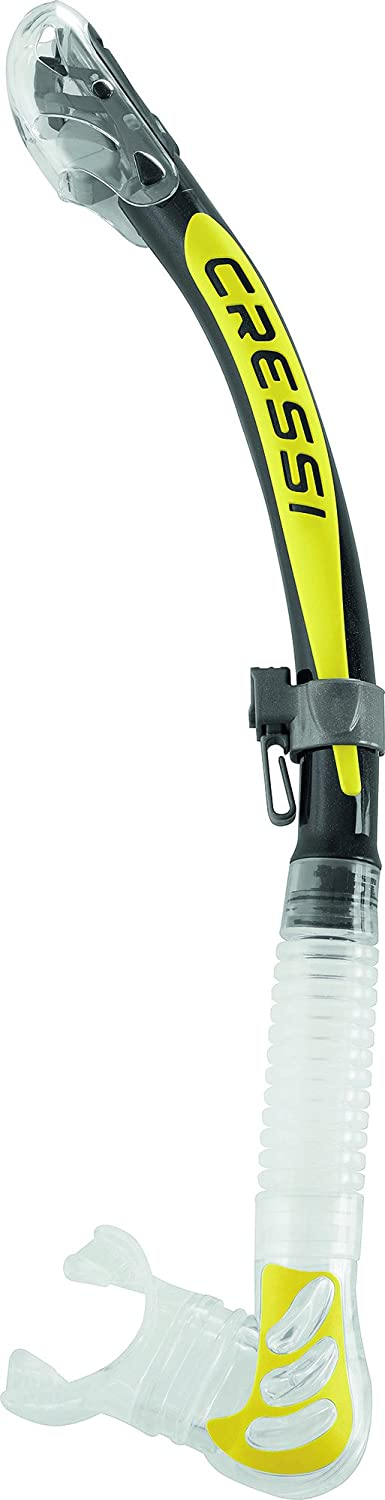 Cressi Alpha Ultra Dry (clear yellow)
