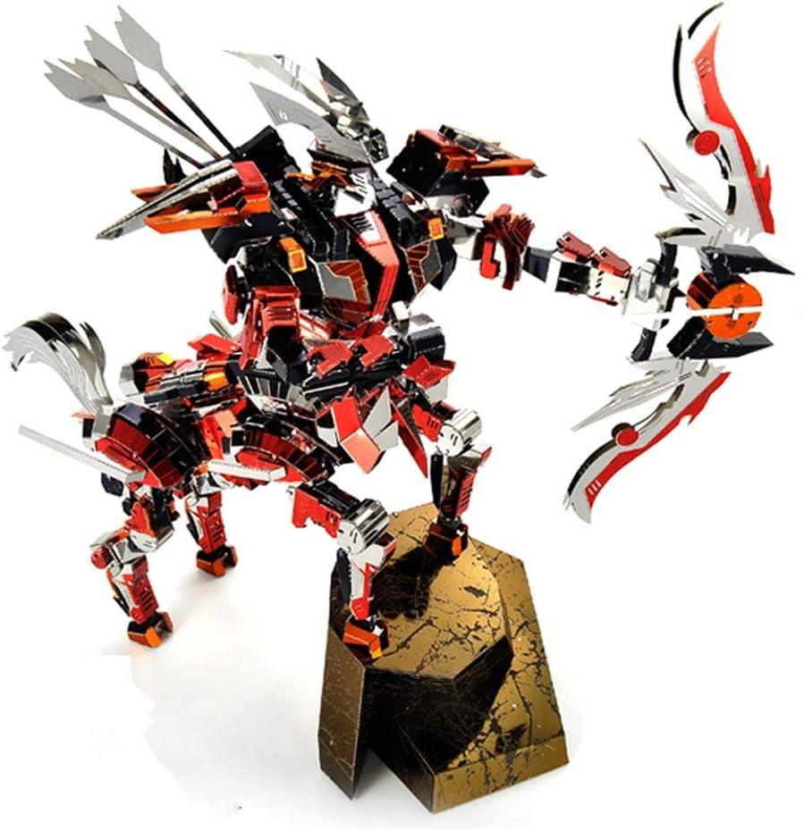 Selling rankings Microworld Centaurus Warrior Half Horse DIY 3D Puzzle Asse Metal 2021