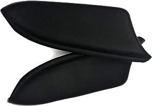 DKIIGAME Accord Armrest Replacement,Vinyl Front Door Panels Armrest Lid Pad for 2008-2012 Honda Accord Sedan (Black)