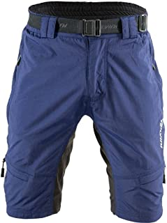 SILVINI MTB Shorts Rango with 6 Pockets for Men's Mountain Bike Cycling and All Outdoor Activities
