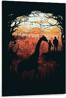 The Last of Us- Giraffe Poster Canvas Art Poster en Wall Art Picture Print Moderne Familie slaapkamer Decor Posters 24x36i...