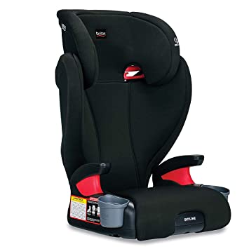 Britax Skyline 2-Stage Belt-Positioning Booster Car Seat, Dusk - Highback and Backless Seat: image