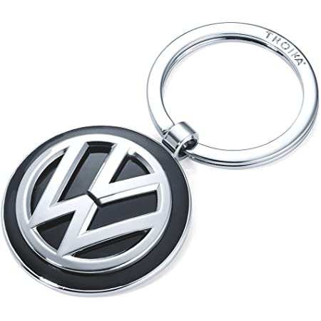 Volkswagen 000087011k Schlüsselanhänger Metall Anhänger Keyring Mit Neuem Vw Logo Auto