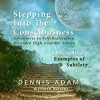 Stepping Into The Consciousness - Vol.4 No.9 - Examples of Subtlety by Dennis Adams