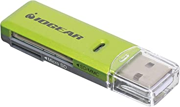 IOGEAR SD/MicroSD/MMC Card Reader/Writer, GFR204SD