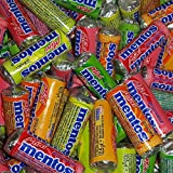 100 x Mini Mentos dulces surtidos sabores frutales 10,5 g cada uno...