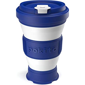 The Simply Smart Collapsible Coffee Cup | Keep Cup with Lid | Eco Friendly Reusable | | Foldable Pocket Size Silicone Travel Cup | Keep Cup |