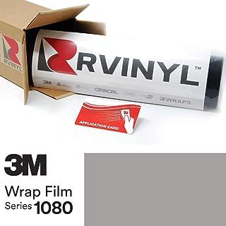 Sponsored Ad - 3M 1080 G31 Gloss Storm Gray 5ft x 1ft W/Application Card Vinyl Vehicle Car Wrap Film Sheet Roll
