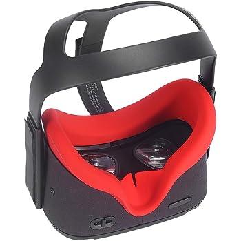 Eyglo Silikon VR Gesichtsmaske für Oculus Quest VR Headset
